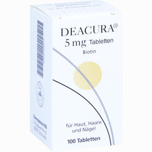 Abbildung von Deacura 5mg Tabletten 100 Stück