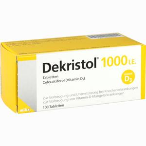 Abbildung von Dekristol 1000 I.e. Tabletten  100 Stück