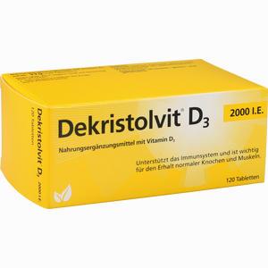 Abbildung von Dekristolvit D3 2000 I.e. Tabletten 120 Stück