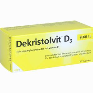 Abbildung von Dekristolvit D3 2000 I.e. Tabletten 90 Stück