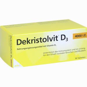 Abbildung von Dekristolvit D3 4000 I.e. Tabletten 90 Stück