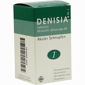 Abbildung von Denisia Nr. 1 Tabletten  80 Stück
