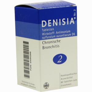 Abbildung von Denisia Nr.2 Tabletten  80 Stück