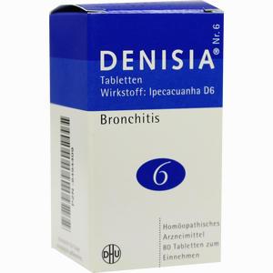 Abbildung von Denisia Nr. 6 Tabletten  80 Stück