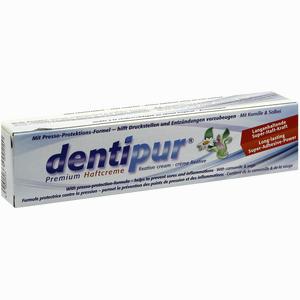 Abbildung von Dentipur Premium Haftcreme Kamille  40 g