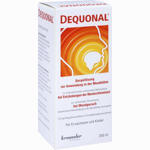Abbildung von Dequonal Lösung  200 ml