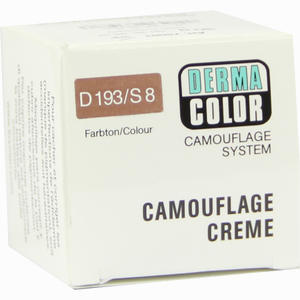 Abbildung von Dermacolor Camouflage S4 Brunette Creme 25 ml