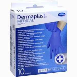 Abbildung von Dermaplast Medical U- Handschuhe Unst. S 6- 7  10 Stück
