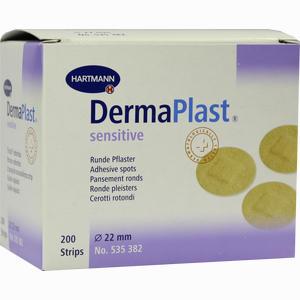Abbildung von Dermaplast Sensitive 22mm Durchmesser Pflaster 200 Stück