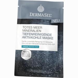 Abbildung von Dermasel Maske Aktivkohle Gesichtsmaske 12 ml
