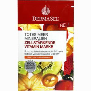 Abbildung von Dermasel Maske Vitamin Gesichtsmaske 12 ml