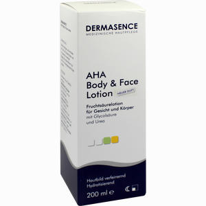 Abbildung von Dermasence Aha Body And Face Lotion  200 ml