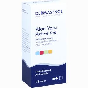 Abbildung von Dermasence Aloe Vera Active Gel Kühlende Maske Gel 75 ml