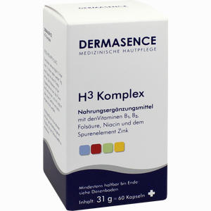 Abbildung von Dermasence H3 Komplex Kapseln 60 Stück