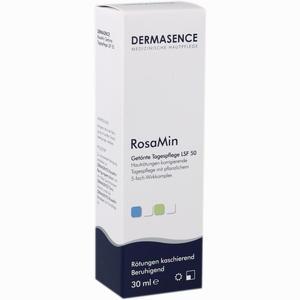 Abbildung von Dermasence Rosamin Getönte Tagespflege Lsf 50 Creme 30 ml