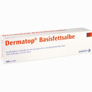 Abbildung von Dermatop Basisfettsalbe  100 g