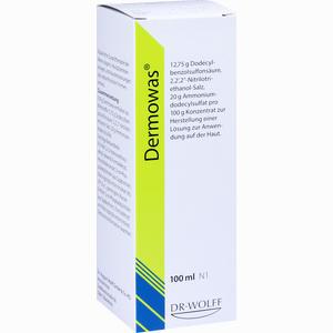 Abbildung von Dermowas Konzentrat 100 ml