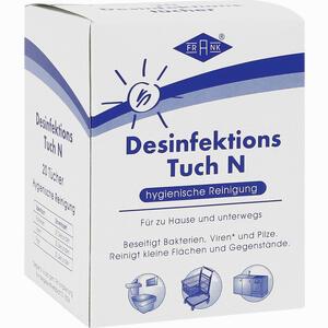 Abbildung von Desinfektionstuch N 20 Stück