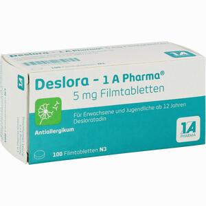 Abbildung von Deslora- 1a Pharma 5mg Filmtabletten  100 Stück