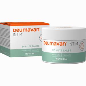 Abbildung von Deumavan Schutzsalbe Neutral Dose Medizinprodukt Fettsalbe 100 ml