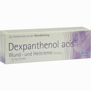 Abbildung von Dexpanthenol Acis Wund- und Heilcreme  5 g