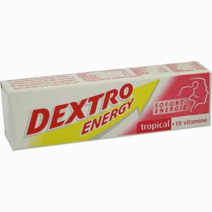 Abbildung von Dextro Energy Tropical + 10 Vitamine Stange 1 Stück
