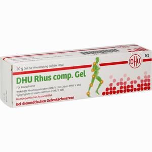 Abbildung von Dhu Rhus Comp. Gel Gel 50 g