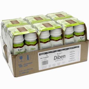 Abbildung von Diben Drink Cappuccino (1.5 Kcal/ml) Fluid 24 x 200 ml