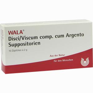 Abbildung von Disci/viscum Comp. Cum Argento Supportorien Zäpfchen 10 x 2 g