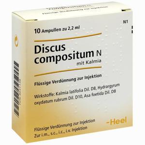 Abbildung von Discus Compositum N mit Kalmia Ampullen 10 Stück