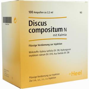Abbildung von Discus Compositum N mit Kalmia Ampullen 100 Stück