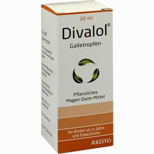 Abbildung von Divalol Galletropfen  20 ml