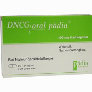Abbildung von Dncg Oral Pädia Hartkapseln  20 Stück