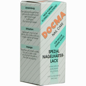 Abbildung von Docma Spezial- Nagelhärter- Lack 14 ml