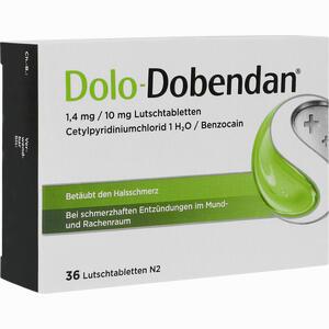 Abbildung von Dolo- Dobendan 1.4mg/10 Mg Lutschtabletten  36 Stück