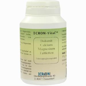 Abbildung von Dolomit Calcium Magnesium Tabletten Icron Vital  250 Stück