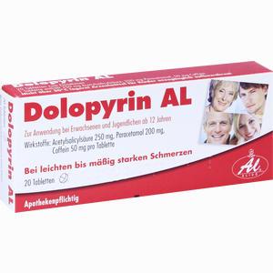 Abbildung von Dolopyrin Al Tabletten 20 Stück