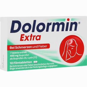Abbildung von Dolormin Extra Filmtabletten 10 Stück