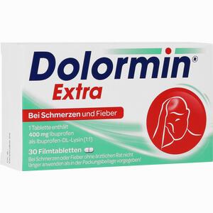 Abbildung von Dolormin Extra Filmtabletten 30 Stück