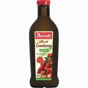 Abbildung von Donath Cranberry Ungesüßt Bio Vollfrucht- Saft  500 ml