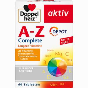Abbildung von Doppelherz A- Z Depot Tabletten 60 Stück