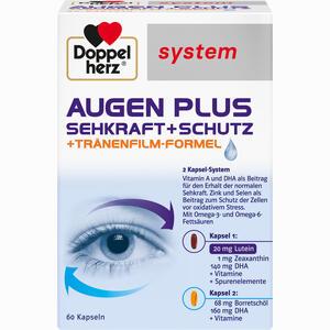 Abbildung von Doppelherz Augen Plus Sehkraft+schutz System Kapseln 60 Stück