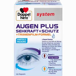 Abbildung von Doppelherz Augen Plus Sehkraft+schutz Systemkapseln  120 Stück