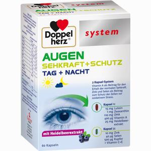 Abbildung von Doppelherz Augen Sehkraft+schutz System Kapseln 60 Stück