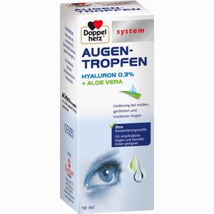 Abbildung von Doppelherz Augen- Tropfen Hyaluron 0.3% System Fluid 10 ml