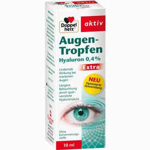 Abbildung von Doppelherz Augen- Tropfen Hyaluron 0.4% Extra  10 ml