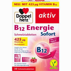 Abbildung von Doppelherz B12 Energie Sofort Schmelztabletten  30 Stück
