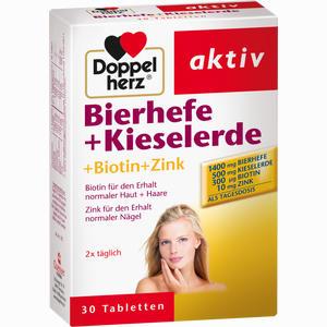 Abbildung von Doppelherz Bierhefe + Kieselerde Tabletten  30 Stück