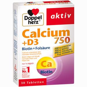 Abbildung von Doppelherz Calcium 750+d3+biotin Tabletten 30 Stück