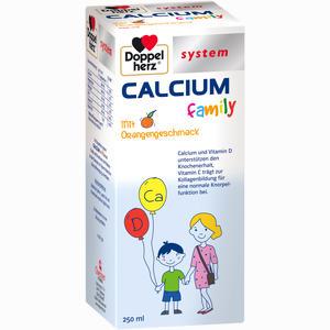 Abbildung von Doppelherz Calcium Family System Fluid 250 ml